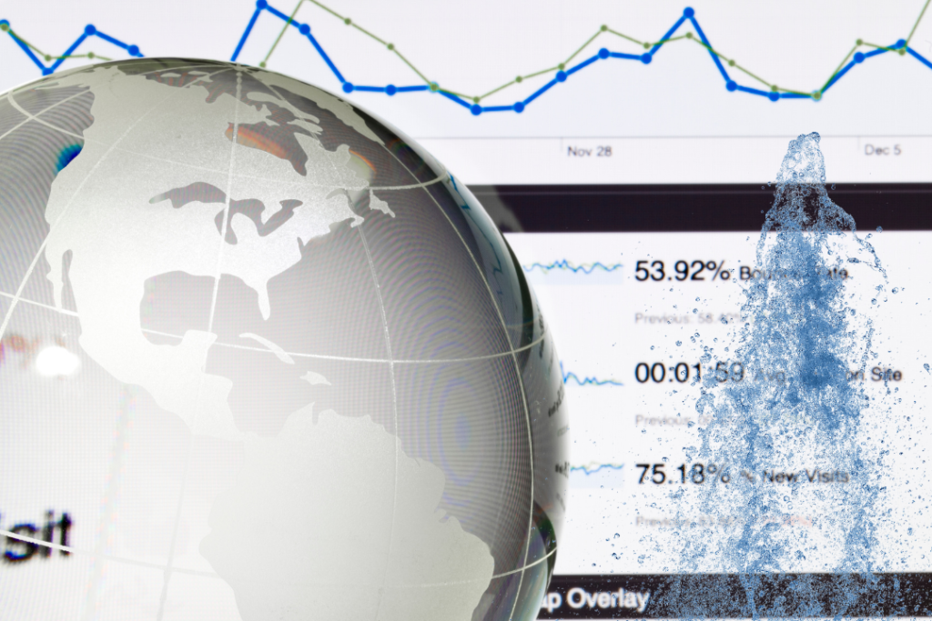 Google Page Experience planète courrbe eau site internet chiffres