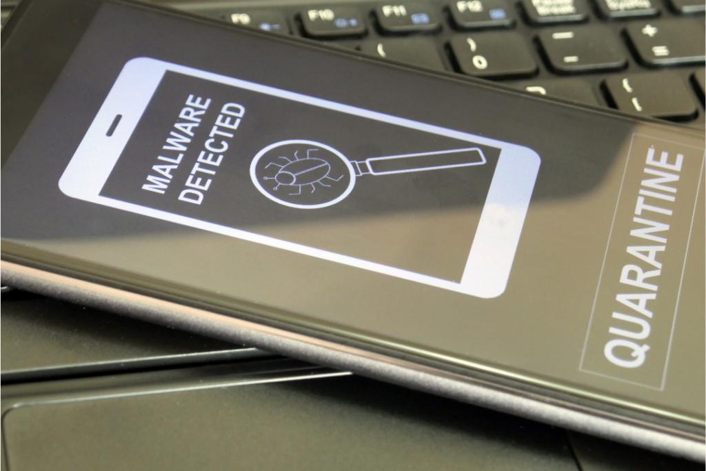 Malware détecté smartphone