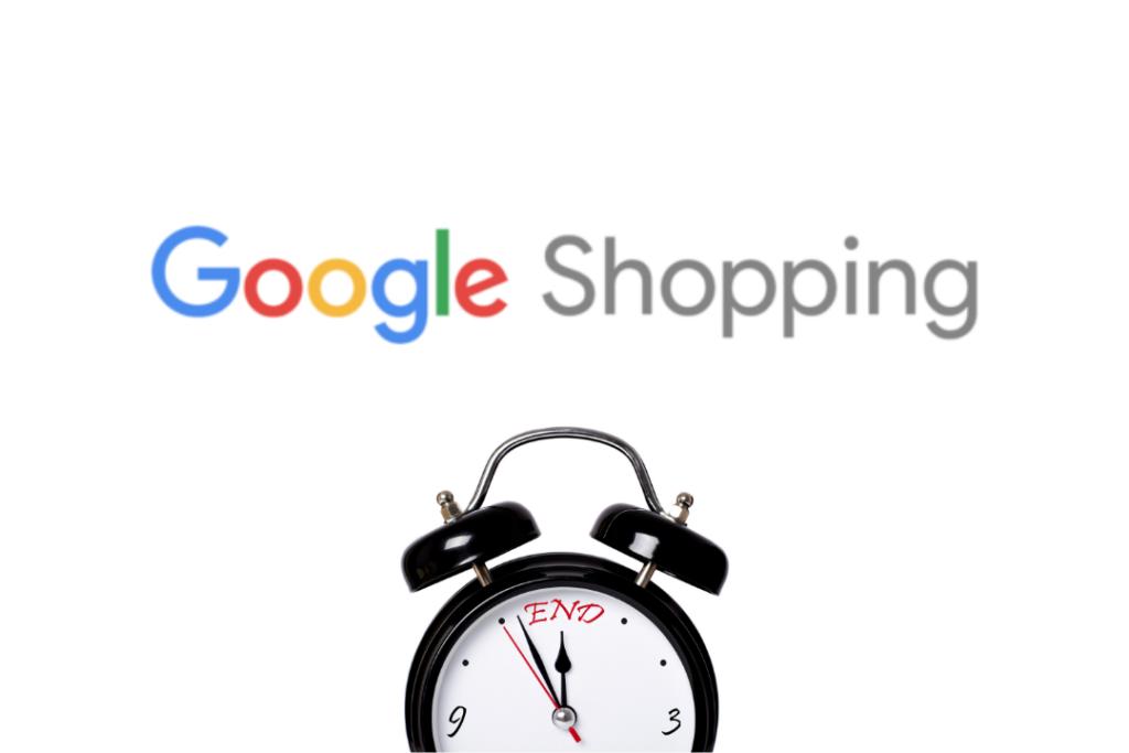 Google Shopping logo réveil end